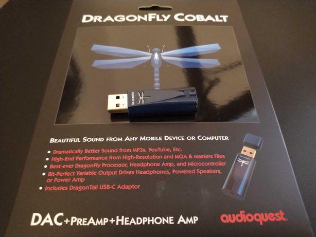 AudioQuest Dragonfly Cobalt - świetny DAC do słuchawek