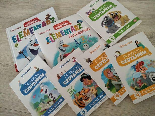 Nowa seria przygoda z czytaniem Disney elementarz ćwiczenia czytanki