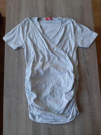 Bluzka ciążowa do karmienia szara TXM