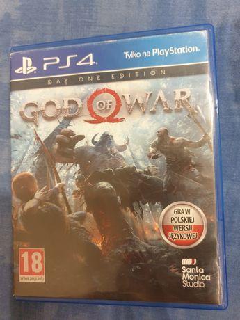 God of war day one edition gra PS 4 PlayStation 4 polska wersja