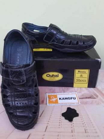 Кожаные туфли Kangfu (Кангфу)