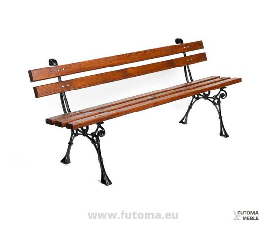 Ławka tarasowa ławka ogrodowa RETRO 165 cm
