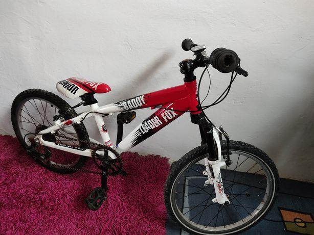 Rowerek dziecięcy Leader Fox koła 20 cali Aluminiowy