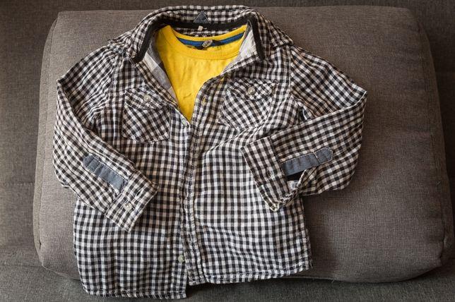 Рубашка в клеточку Tu 3-4 лет