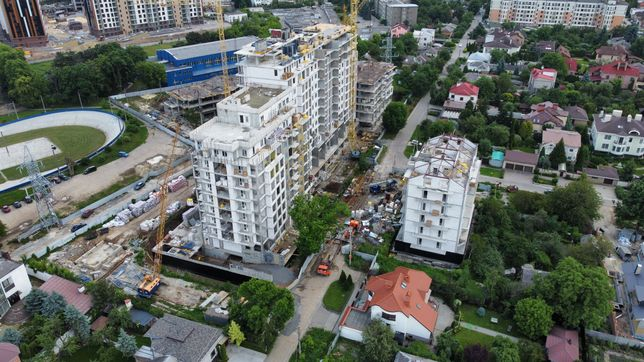 ЖК Авиационная - продаж 2-кім. кв. 75 м2 в новобудові, Шатиловка