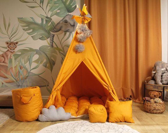 Дитячий вігвам палатка, будиночок. Акція! Подушечка в подарунок
