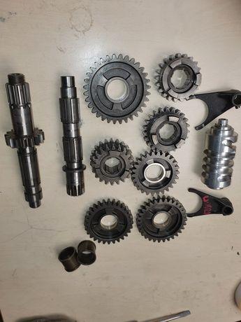 KTM SX EXC SXF 450 520 RFS 400 525 części skrzyni wieloklin zębatka