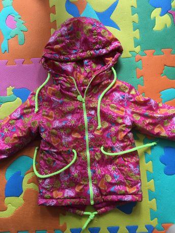 Демисезонная курточка на девочку 9-18 мес.