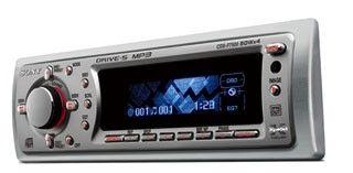 SONY CDX-F7500 Odtwarzacz samochodowy MP3 4x50W