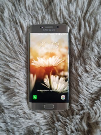 Samsung S6 Edge złoty w pełni sprawny