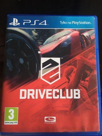 Gra na playstation 4 ps4 driveclub