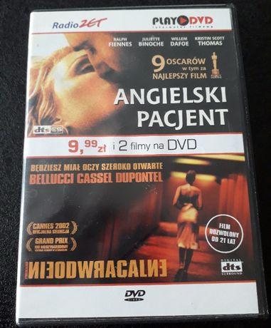 Angielski pacjent i Nieodwracalne , dwa filmy w jednym dvd box