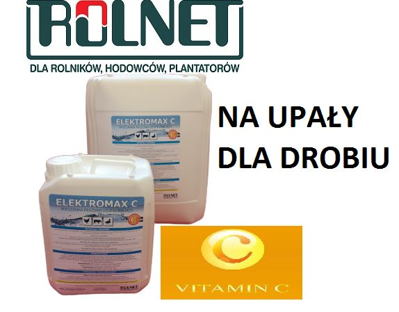 Elektromax C- na upłay dla zwierząt mieszanka z witaminą C-5kg