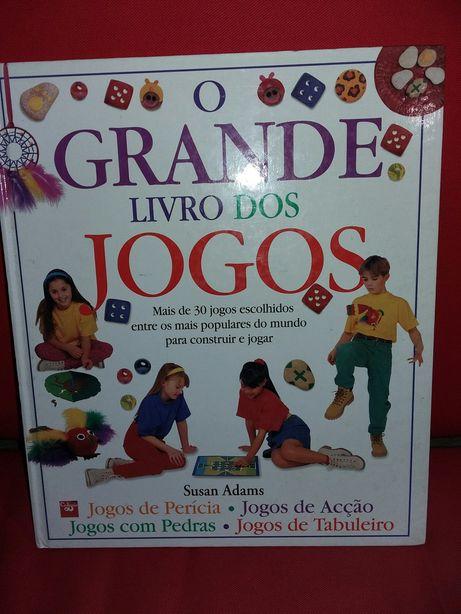 """""""O Grande Livro dos Jogos"""" de Susan Adams Editora Civilização"""