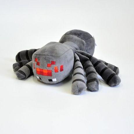 Плюшевая игрушка паук Baby spider minecraft 17 или 32 см майнкрафт