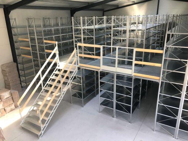 Antresola magazynowa AM2 – 24,21 m2 - podest piętrowy - PRODUCENT