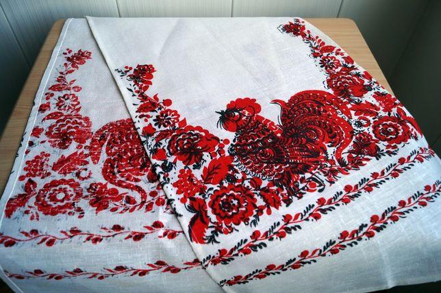 Рушники весільні з льону (свадебные рушники из льна).Парные.100 гр оба