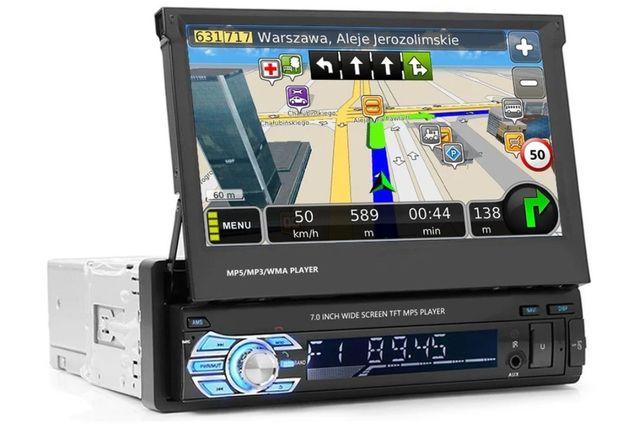 Radio Samochodowe 1din 7cali GPS Gio8/Bluetooth/Kamera Cofania/USB