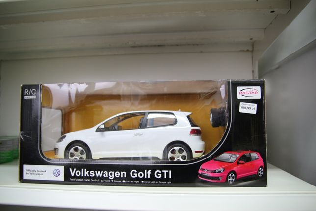 Samochód na akumulator Auto zdalnie sterowane na radio Golf GTI