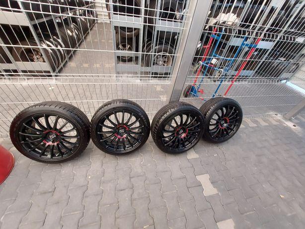 "OZ Racing 4x100 17"" + opony 205/45R17 Dunlop  8mm"