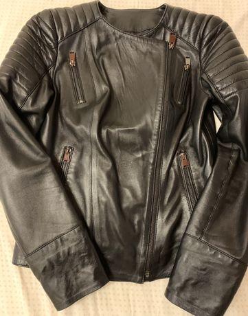Продам кожанная куртка косуха утепленная