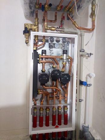 Hydraulik .Instalacje wod.-kan. centralne ogrzewania,hydraulika.Gaz