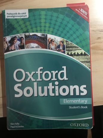 Oxford Solutions Elementary