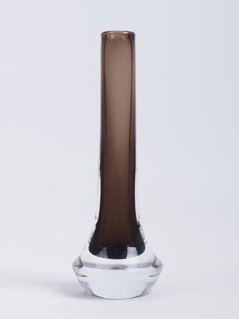 Szklany wazon proj. Josef Schott Smålandshyttan Szwecja lata 60-te