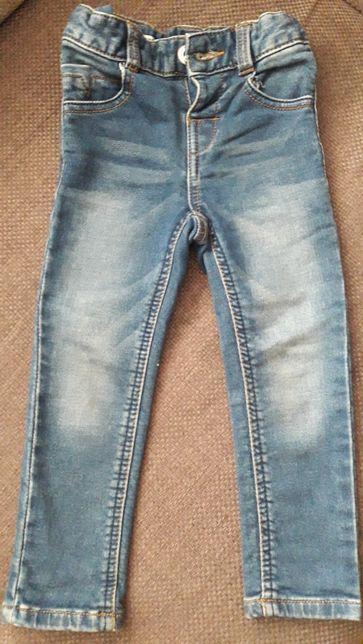 Spodnie dzinsowe dla dziewczynki
