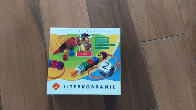 Literkobranie gra edukacyjna Aleksander