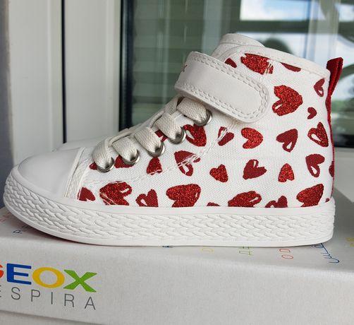 nowe buty trampki tenisówki dla dziewczynki geox ciak r25