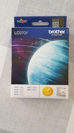 Tusz brother LC 970Y , LC 970C
