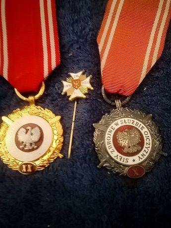 Zestaw medali Siły zbrojne
