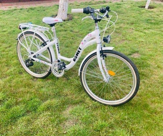Rower dla dziewczynki - koła 24- stan idealny