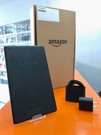 "Amazon Kindle Fire HD 8"" 2017 7ª 1.5GB 16GB Preto A - Garantia 1 ano"