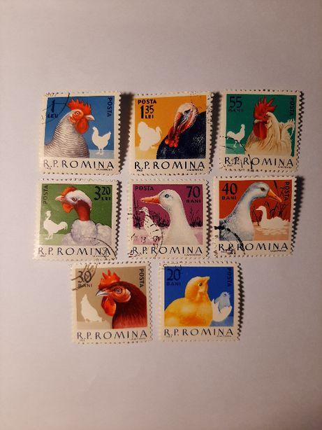 Znaczki pocztowe - zestaw 16