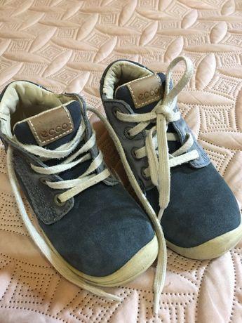 Кожаные мокасины, черевики,Кроссовки ECCO, 26 р