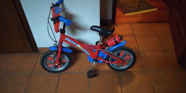 Bicicleta Infantil Patrulha Pata (vermelho e azul) - (Novo Preço)