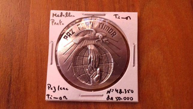 Medalha de Prata Paz em Timor pelos Direitos humanos