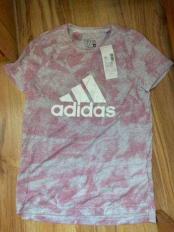 Koszulka adidas oryginalna nowa z metkami 164 cm damska