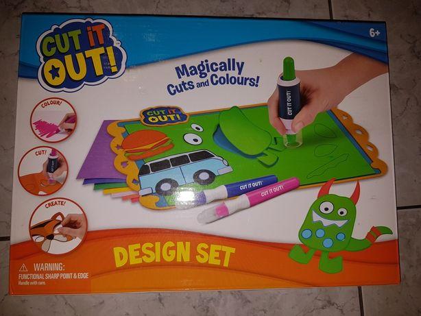 Epee CUT IT OUT design set Magia wycinania Zestaw projektanta
