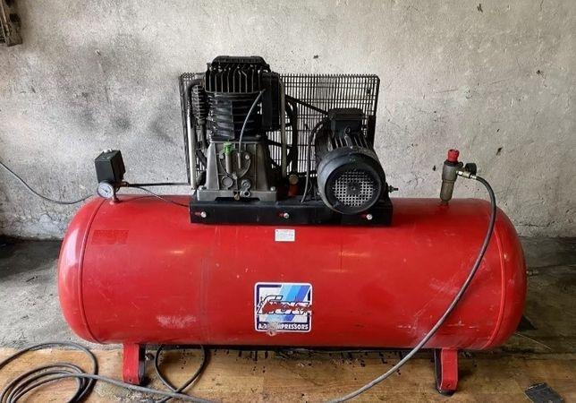 Воздушный компрессор fiac  500л
