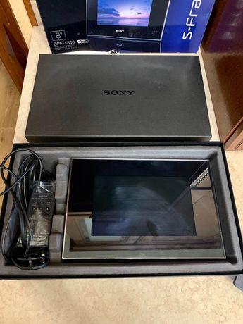 Описание Sony DPF-X800 Black  Шикарная цифровая фоторамка