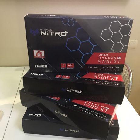 Видеокарта Sapphire Nitro+ Radeon RX 5700 XT 8G, 8192 MB GDDR6