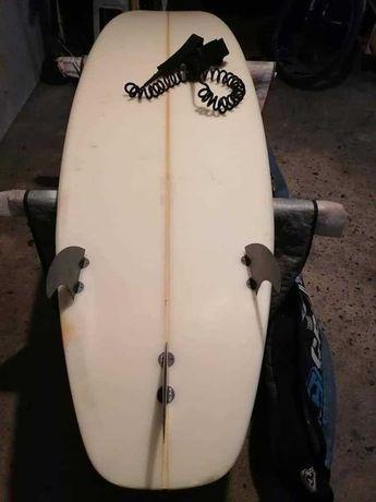 6.8 Evolution Funboard Malibu prancha de surf deck nsp torq epoxy FCs