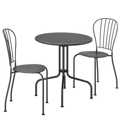 mesa + 2 cadeira