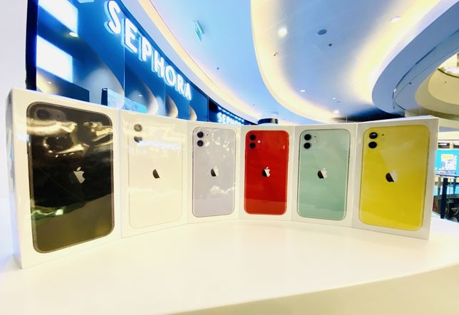 iPhone 11 64GB Black White Red Purple Green Yellow ZŁOTE Wawa