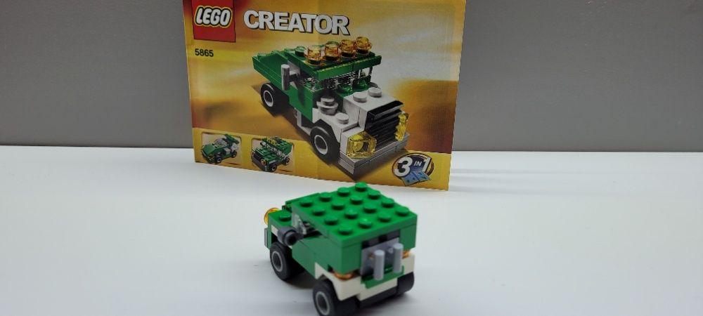 Lego CREATOR 5865 3 auta w jednym zestawie Gorzów Wielkopolski - image 1
