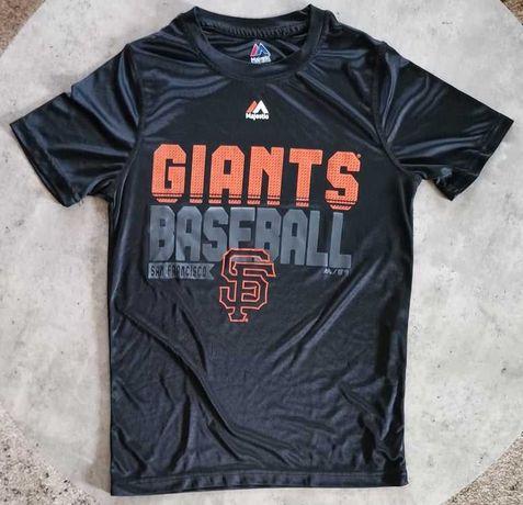 Koszulka trening Majestic MLB Giants San Francisco Baseball 10 12 lat