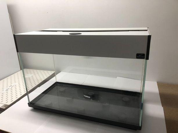 Akwarium Optiwhite z szafką, pełnym osprzętem + wiele dodatków